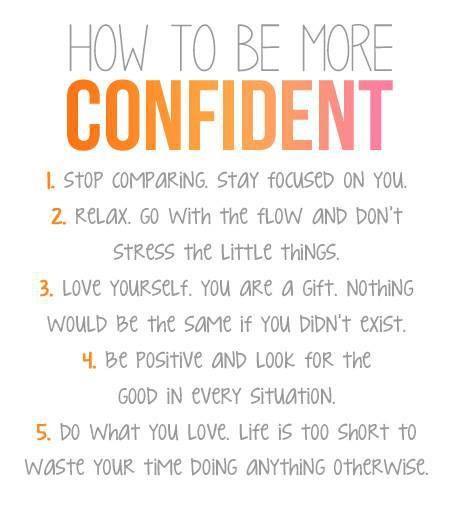 5 Steps - Confident